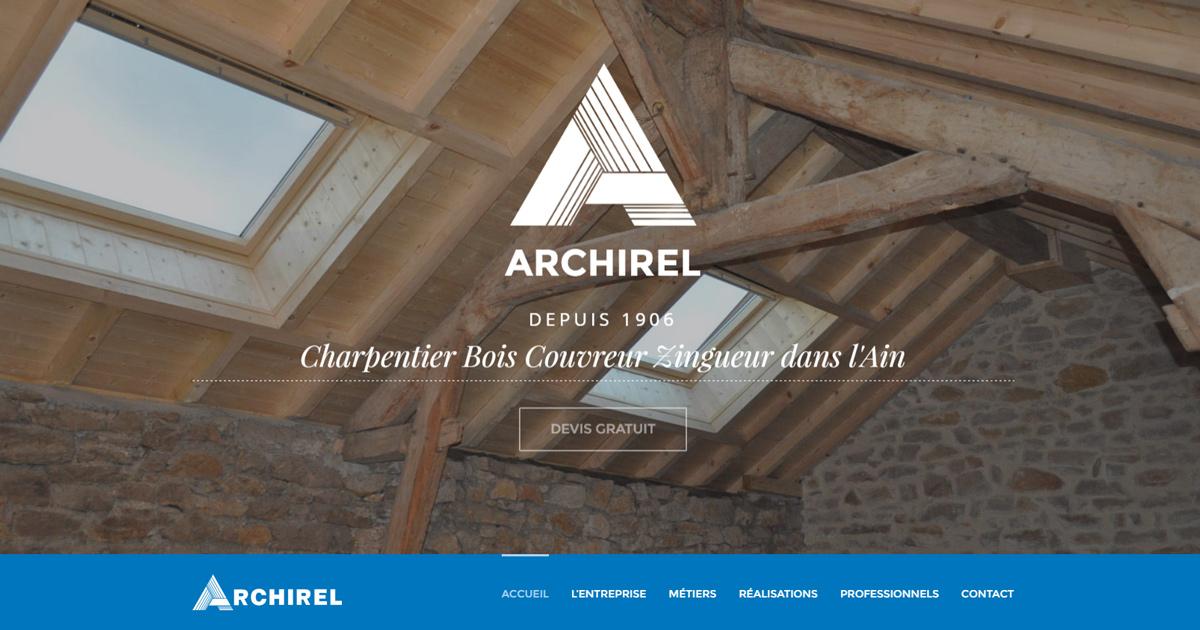 archirel charpentier bois couvreur zingueur depuis 110 ans dans l 39 ain. Black Bedroom Furniture Sets. Home Design Ideas