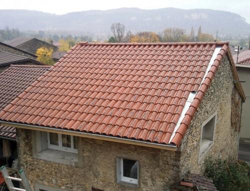 Rénovation complète et isolation d'une toiture ancienne